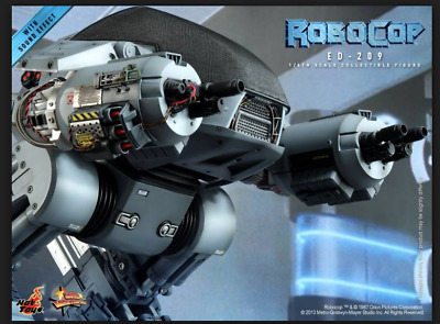 READY BROWN BOX Hot Toys 1/6 24 Inches ED-209 Robocop Huge Sound SF3D