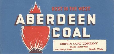 Griffin Coal Company blotter