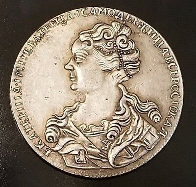 Russian Soviet coin 1725 Russia 1 Rouble Poltina  of Russia R77