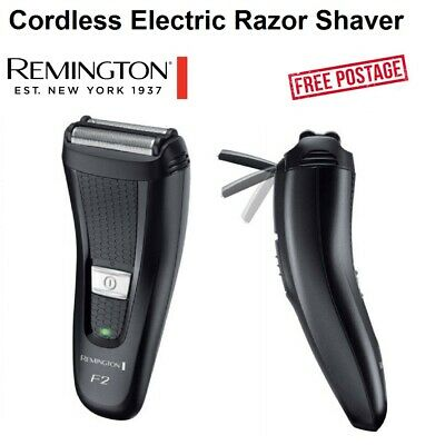 Remington Mens Razor Electric Cordless Rechargeable Shaver Sideburn Trimmer NEW