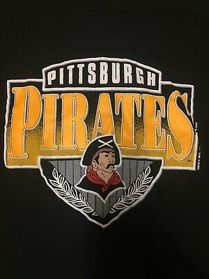 Pittsburgh Pirates Vintage - Black Used Extra Large Shirt Great Condition
