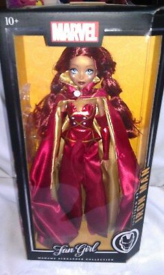 "Madame Alexander Collections  Marvel  Iron Man  ""Fan Girl"" New In Package 14"""