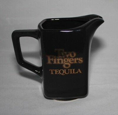 Two Fingers Tequila Liquor Bar Water Pitcher