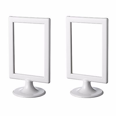 IKEA TOLSBY FRAME for 2 Sided Pictures Display Memo White NEW ...