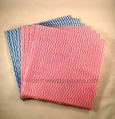 40Pk Handy Wipes Reusable Cleaning Cloths