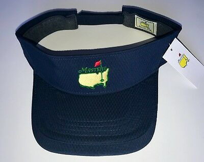 Masters low rider visor navy blue performance augusta national golf new pga 6d8fb4abff34