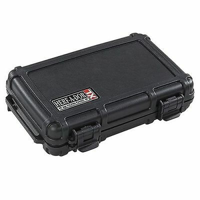 Herf A Dor Xl5 Cigar Caddy Travel Humidor Holds 5 Xl Cigars Waterproof Save 41%!