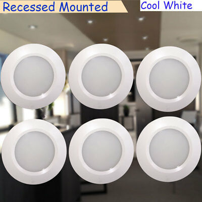 6x 12v rv under cabinet led recessed light fixtures natural white