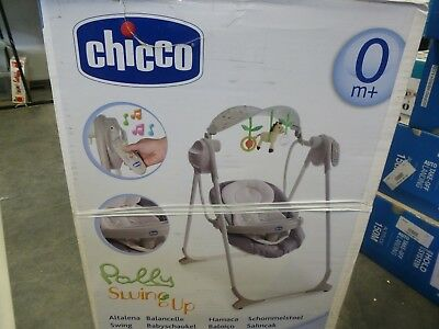 balancelle grise  polly swing up chicco ( occasion )