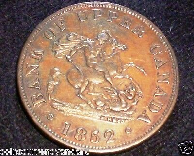 Province Of  Canada Pc-5B2 Token, Canada ,1852