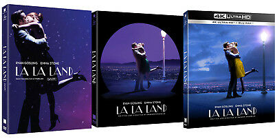 La La Land -  4K, Blu-ray, DVD Slip Case Edition (2018) / UHD / Pick one!