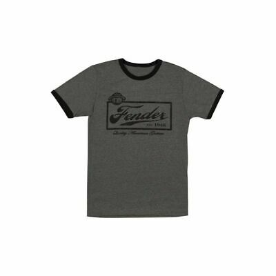 Fender Beer Label T-Shirt Grey, S