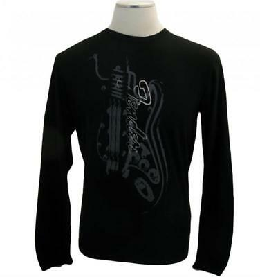 Fender T-Shirt Longsleeve Painted Guitar, XL