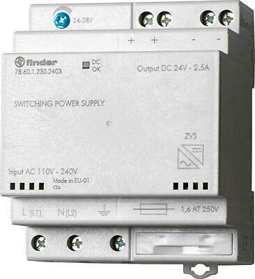 Finder Alimentatore Switching 60W 24Vdc 2,5A Din