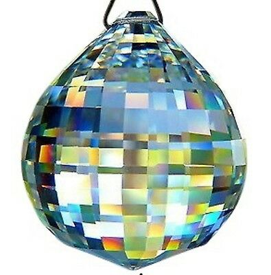 30mm Clear Disco Ball Chandelier Crystal Prism Lead Crystal Suncatcher