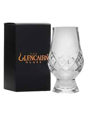 The Glencairn Cut Crystal Whisky Tasting Glass + New Black & Gold Box
