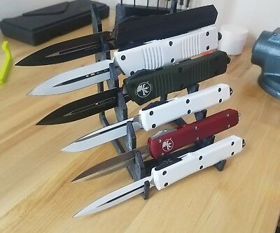 Polymer 6 Knife Display Stand knives Rack