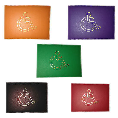 GENUINE Disabled Badge Holder Safe Parking Permit Display Cover Wallet UK SELLER