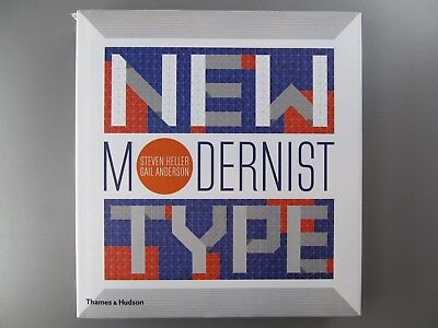 New Modernist Type, by Steven Heller, 2012