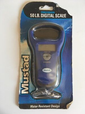 Mustad MT-50DSCL 50LB Digital Fish Scale