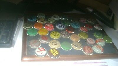 840 OLD NEVER USED CORK LINED SODA BOTTLE CAPS Loc DEN