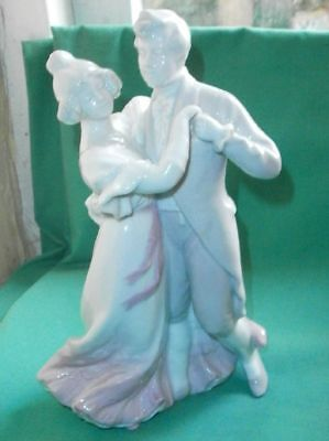 Gebr. Heubach, dancing couple/ gl. porcelain/China/antique/Germany