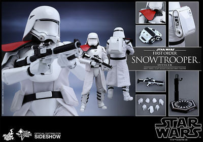Hot Toys Star Wars - FIRST ORDER SNOWTROOPER OFFICER 1/6th Scale Figure MMS322