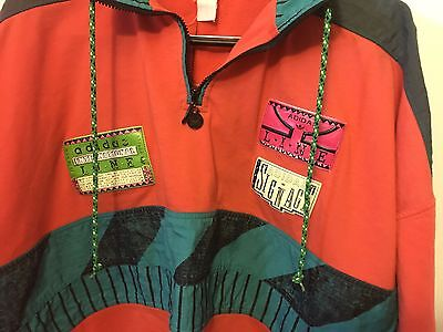 Adidas XL 80's VINTAGE graphic Pullover RUN DMC
