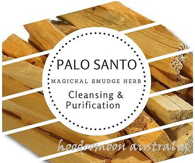 Resin & Wood Incense: PALO SANTO Smudge Sticks 2 x 110mm