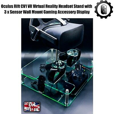 Oculus Rift CV1 VR Virtual Reality Headset Stand with 3 x Sensor Wall Mount