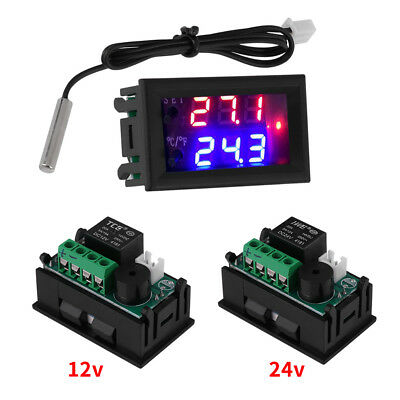 DC12/24V Digital LED Microcomputer Thermostat switch Temperature Controller el