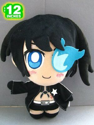 "Vocaloid Black Rock Shooter 12/"" Plush #12BL"