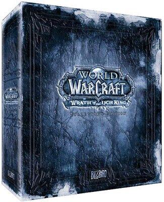 World of Warcraft - Wrath of the Lich King Collectors Edition - OVP NEU Sealed!