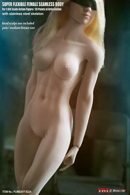 1/6 TBLeague PLMB2017-S22A Phicen Female Seamless Body Medium Bust pale NIB