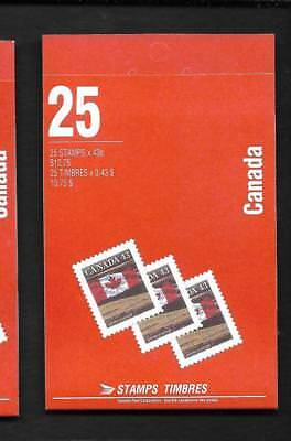 pk34708:Stamps-Canada #BK154b  Flag over Prairies 25 x 43 cent Booklet