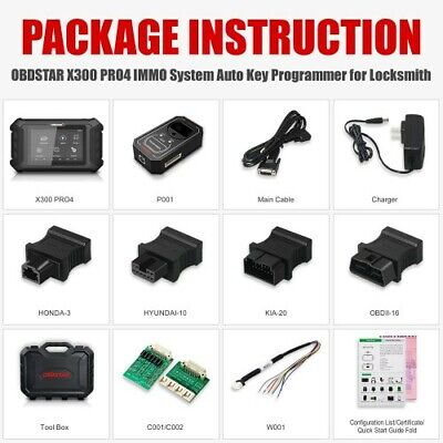 OBDSTAR DP PAD Tablet IMMO ODO EEPROM  OBDII Tool for Japanese&South Korean car