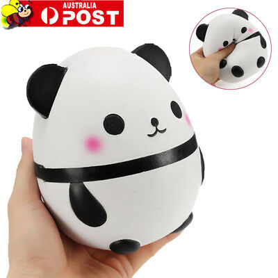 Squishy Panda Doll Egg Jumbo 14cm Slow Rising With Packaging Soft Squeeze Toy S4
