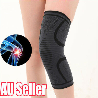 Knee Brace Support Strap Compression Protector Running Sleeve Sports Leg dd