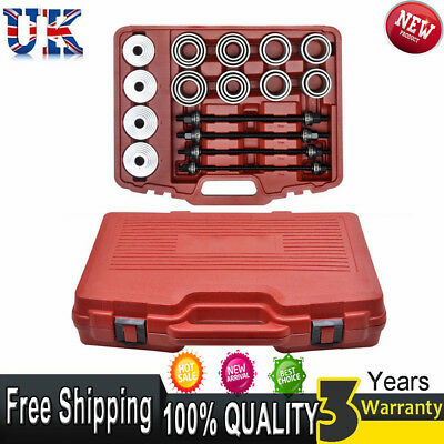 36x Universal Press and Pull Sleeve Kit Remove Install Bush Bearing Garage Tool