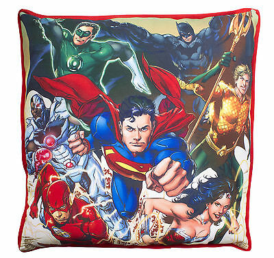 Justice League Invincible Superman Bedroom Accessory Home Decor Filled Cushion