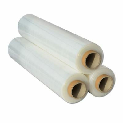 Shrink Wraps Heavy Duty Clear Pallet Wrap Stretch Film 500mm x 450m 23mu 3kg