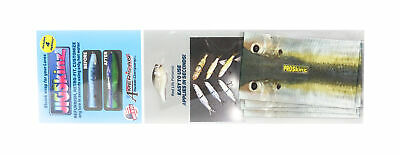 Jigskinz JZRLTF-PM4 PRL Threadfin 75 x 85mm x 4 pieces Pro-Medium (1004)