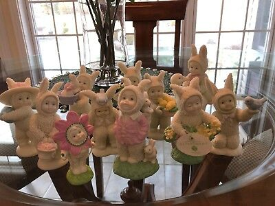 Lot of 1 Easter Dept 56 Snowbunnies, Great Condition