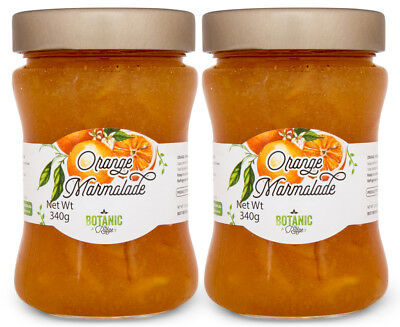 2 x Botanic Ridge Orange Marmalade 340g