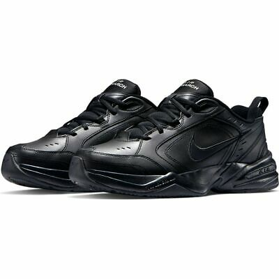 NIKE Air Monarch IV Black Nero SNEAKERS RUNNING Scarpe da ginnastica uomo Man