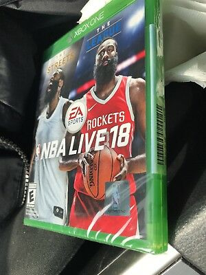 NBA Live 18 (Microsoft Xbox One, 2017)