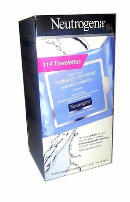 New ! Neutrogena Make-Up Remover Facial Towelettes, 114-count