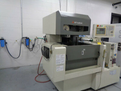 "Mitsubishi FA10SM CNC Wire Cut EDM 31"" x 23"" x 8"" Electrical Discharge Machine"