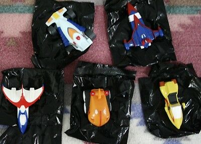 Battle of the Planets Gatchaman G Force Science Ninja Team Vehicle 5 Full Set