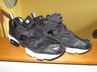 REEBOK BOUNTY HUNTER PACKER SHOES atmos INSTA PUMP FURY AR1991 BxH BLACK  size 13